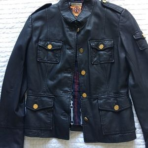 Tori Burch Leather Jacket